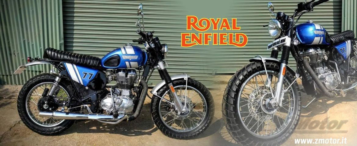 Royal Enfield by Dochaki Designs