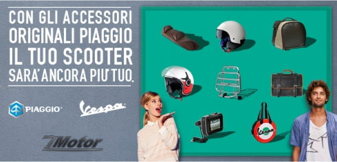 Vendita Accessori Vespa originali