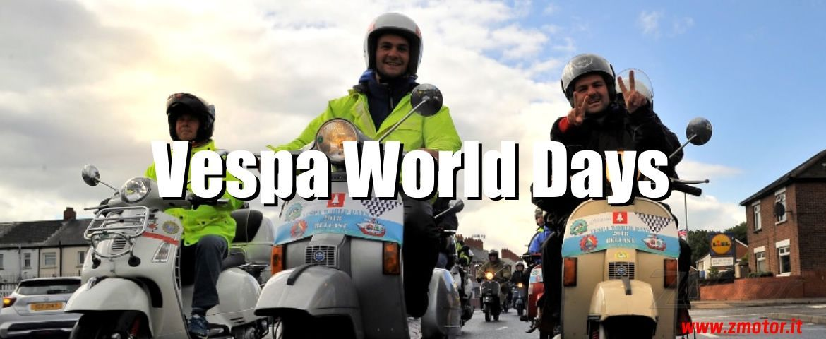 Vespa World Days, appuntamento al 2019