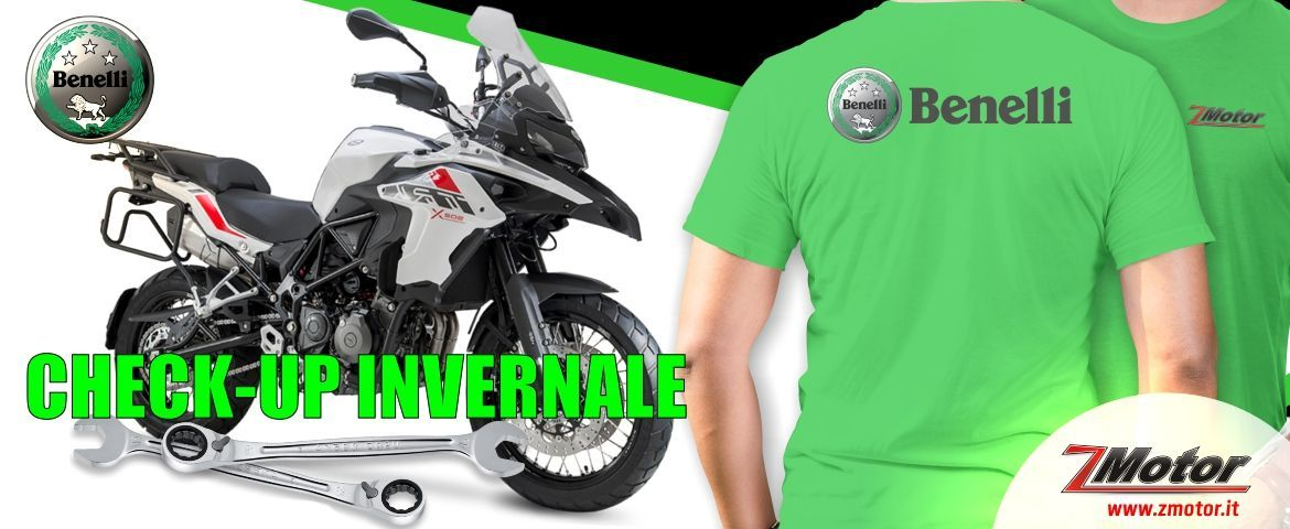 Check-Up invernale Benelli moto